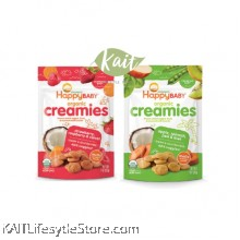 HAPPYBABY Organic Freeze-Dried Creamies (28g)