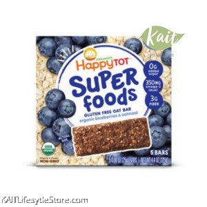 HAPPYBABY Superfoods Organic Gluten Free Oat Bar (125g)