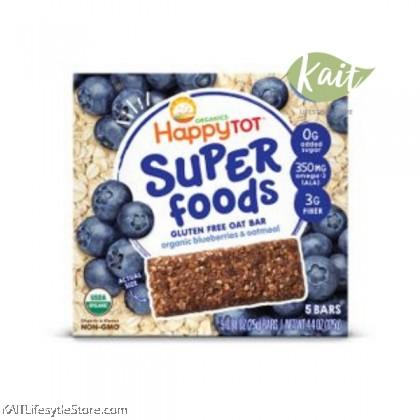 HAPPYBABY Superfoods Organic Gluten Free Oat Bar (125g)
