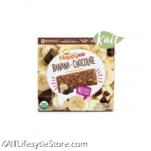 HAPPYBABY Organic Gluten Free Banana Chocolate Oat Bar (140g)