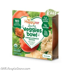 HAPPYBABY Love My Veggies Bowl (128g)