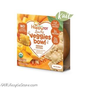 HAPPYBABY Love My Veggies Bowl (128g)