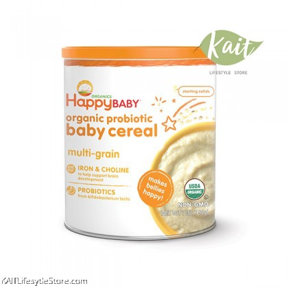 HAPPYBABY: Happy Bellies Cereal - Multigrain (198g)