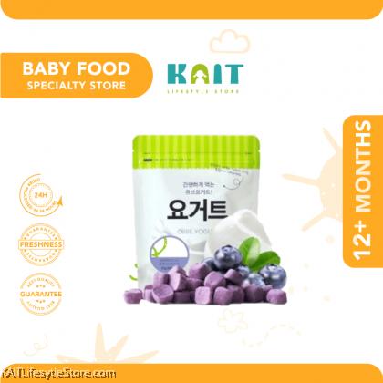 SSALGWAJA Natural Freeze-Dried Cube Yogurt (18g) [12 Months]