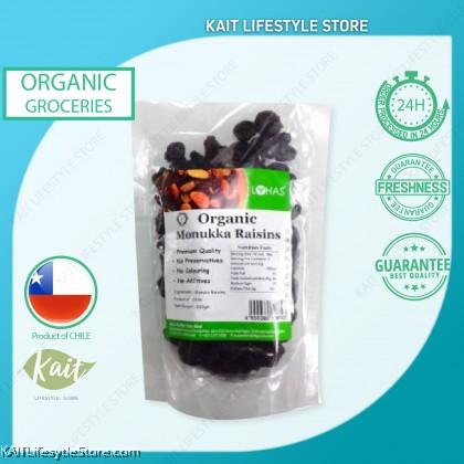 LOHAS Organic Monukka Raisins (200gm)