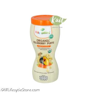 BABY NATURA Organic Riceberry Puffs (40g) [8m+]
