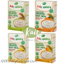 BABY NATURA Organic Brown Rice Porridge (6x20g)