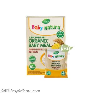 BABY NATURA: Organic Brown Rice Porridge (20g) Single Sachet