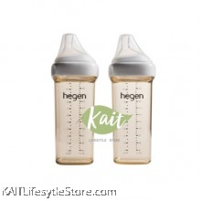 HEGEN Feeding Bottle 2 Pack (330ml)