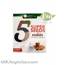 HEALTH PARADISE 5 Super Seeds Cookies [HALAL] (180gm)