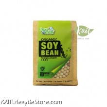 LOVE EARTH Organic Soy Bean  [HALAL] (500gm)