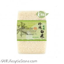 LOVE EARTH Organic Pearl White Rice (1kg)
