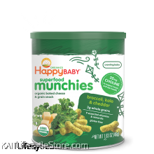 HAPPYBABY: Happy Munchies - Broccoli/Kale (46g)