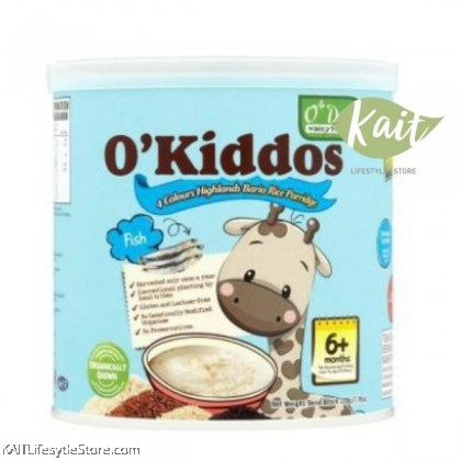 O'DAILY O'Kiddos 4 Colour Bario Rice Porridge [HALAL] (220g)