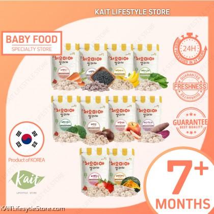 SSALGWAJA Organic Baby Puffing Snack (50g) [7 Months]