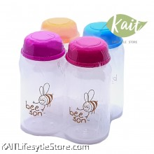 Beeson Breast Milk Storage Bottle (4's) (150ml)