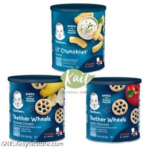 Gerber Teething Snacks 1.48oz (Crawler 8+)