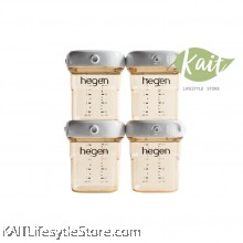 Hegen PCTO 150ml/5oz Breast Milk Storage PPSU (4-Pack)