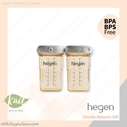Hegen PCTO 240ml/8oz Breast Milk Storage PPSU (2-Pack)