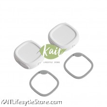 Hegen PCTO Breast Milk Storage Lids (2-Pack) White