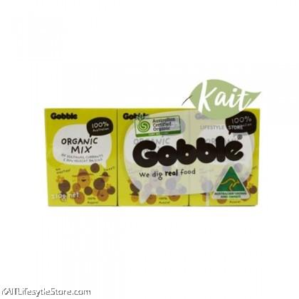 GOBBLE Organic Mixed Raisins [HALAL] (6x35g)