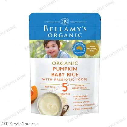 BELLAMY'S ORGANIC : Pumpkin Baby Rice (125g) [5 months+]