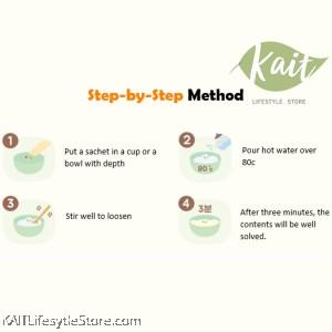 MIZNCO Sweet Potato & Chestnut 3 Minutes Baby Rice Porridge (10g x 8s) [6 months]