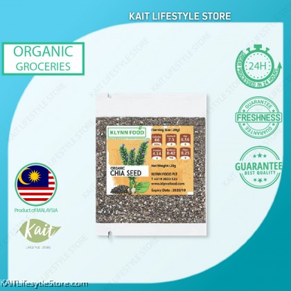 KLYNNFOOD Organic Chia Seed (20g)