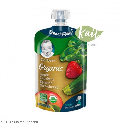 Gerber 2nd Food Organic Pouch 3.5 oz