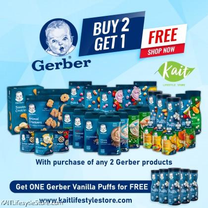 Gerber Snack - Toddler 12+ & Crawler 8+
