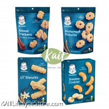 Gerber Snack - Toddler 12+ & Crawler 8+