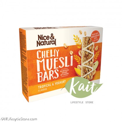 NICE&NATURAL Chewy Muesli Bar (6 x bars) (185g)