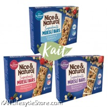 NICE&NATURALSuperfruits Muesli Bars (180g)