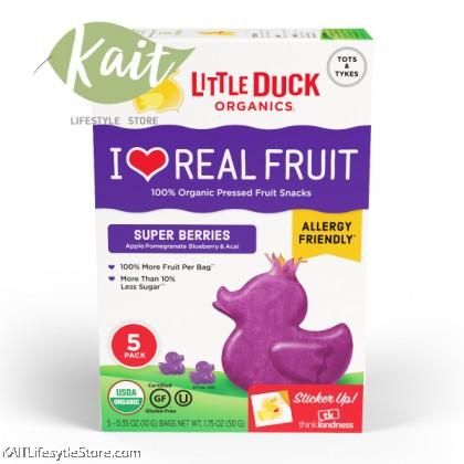 LITTLE DUCK Organic Pressed Fruit Snacks (50g)