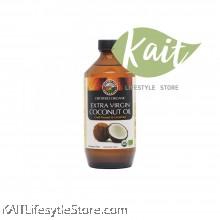 COUNTRY FARM Extra Virgin Coconut oil, cold-press. organic. (500ml) [HALAL]