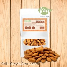 KLYNNFOOD Roasted Nuts Almond - Unsalted (190g)