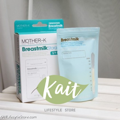 [K-MOM] MOTHER-K Breastmilk Storage Bags Disposable (30pcs)