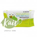 K-MOM Natural Pureness Baby Wet Wipes (30pcs)