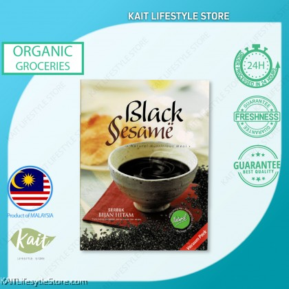 HEI HWANG Pure Black Sesame Powder (400g) [HALAL]