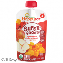 HAPPYBABY: HB Stage 4 - Apple/Butternut Squash (120g)