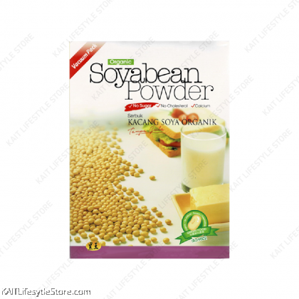 HEI HWANG Organic Soya Bean Powder, NO sugar (500g) [HALAL]