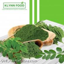 KLYNNFOOD Organic Moringa Leaf Powder 1kg