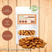 KLYNNFOOD Roasted Nuts Almond - Unsalted (120g)