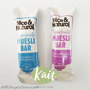 NICE&NATURAL Muesli Bar Variety Box (6 bars)