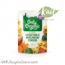 ONLY ORGANIC Vegetable Macaroni & Cheese (220g) [12 months]