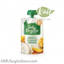 ONLY ORGANIC Mango & Yogurt Brekkie (120g) [8 months]