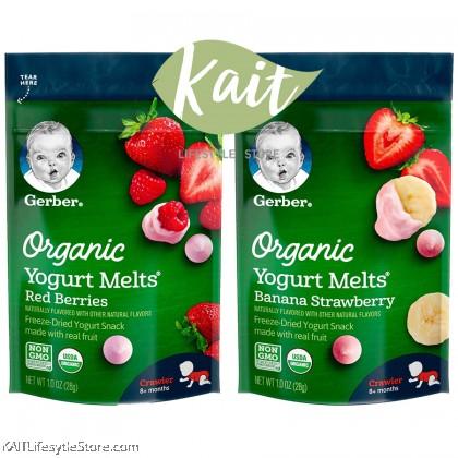 GERBER Organic Yogurt Melts (28g) [8+ months]