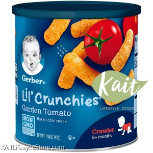 GERBER Lil' Crunchies Baked Corn Snack