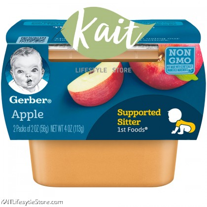 GERBER 1st Foods Baby Puree (56g) [Supported Sitter]