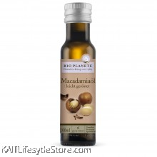 BIO PLANET Organic Macadamia Oil / Organic Virgin Hazelnut Oil (100ml)